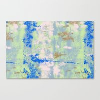 tie dye Canvas Prints featuring Tie Dye by Wendy Ding: Illustration