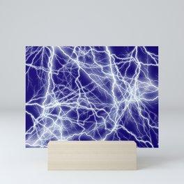 Electrical Lightning Sparks Mini Art Print