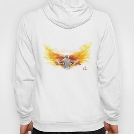On Wings Like Eagles (Isaiah 40:31) Hoody