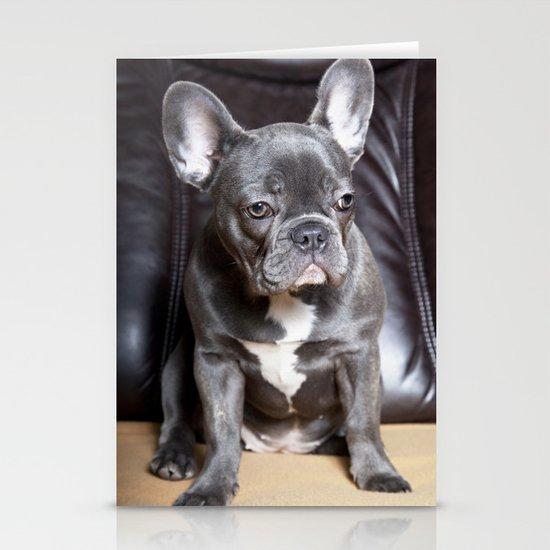 French Bulldog Stationery Cards