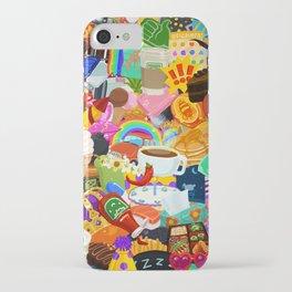 Sticker overload iPhone Case