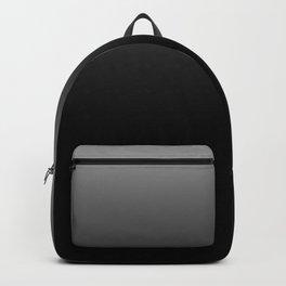 Blurred Black and White Backpack