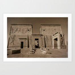 Philae Temple Art Print