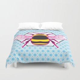Geometric Bumblebee Duvet Cover