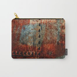 Synthetic Leather Carry-All Pouch
