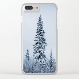 First Snow Fog Clear iPhone Case