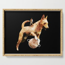 Wandering Dog Serving Tray