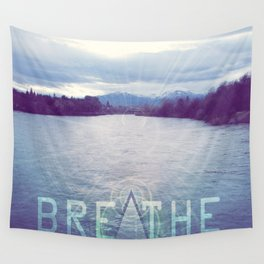 Breathe in the Beauty of Nature Wall Tapestry