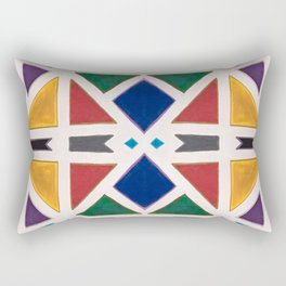 Diverse City Rectangular Pillow