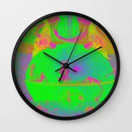 Garden of Earthly Delights - Fountain  Wall Clock