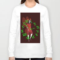 homestuck Long Sleeve T-shirts featuring Maid of Time  by Paula Urruti