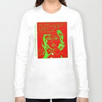 chad wys Long Sleeve T-shirts featuring chad for murder by Chad M. White
