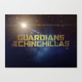 Guardians of the Chinchillas Canvas Print