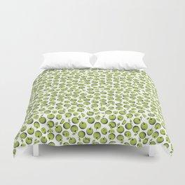 Green apples Duvet Cover