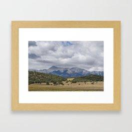 Mt. Princeton Framed Art Print