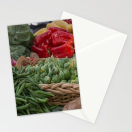 Brussel Sprouts and other Fresh Veggies Stationery Cards
