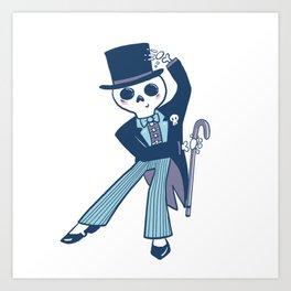 Creakum T. Bones Art Print