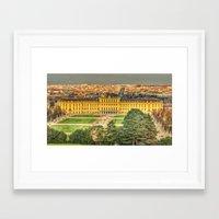 vienna Framed Art Prints featuring Vienna by jamesrizzi