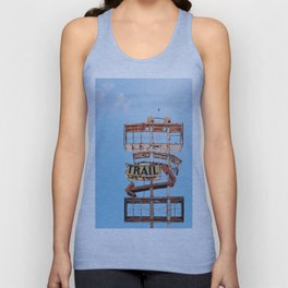 Vintage Neon Sign - The Spanish Trail -  Tucson Unisex Tank Top