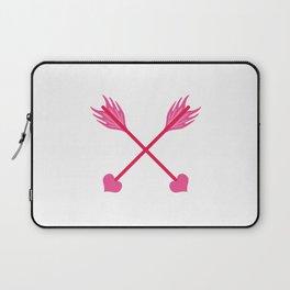 Love Cross Arrows Laptop Sleeve