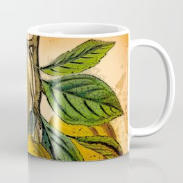Yellow Plum Branch Coffee Mug