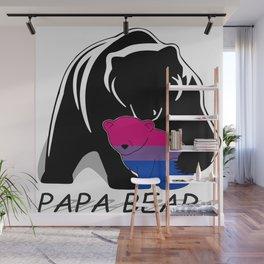 Papa Bear Bisexual Wall Mural