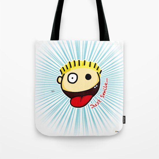 The Sbirù - Just Smile... Tote Bag