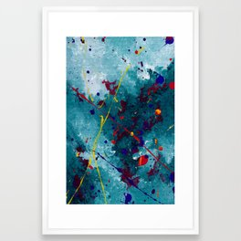 Fireworks: Night Framed Art Print