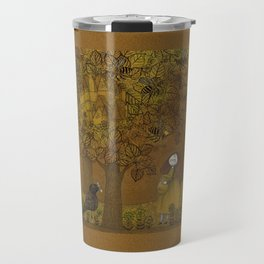 The Queen of Bees and the Princess who loved Honey Travel Mug