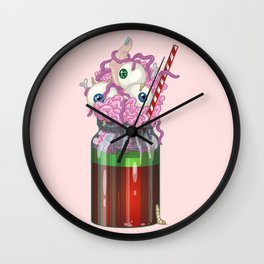 Monster Milkshake Wall Clock