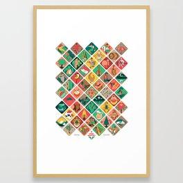 Loteria Geometrica Framed Art Print