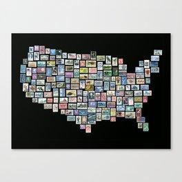 US Mail Canvas Print