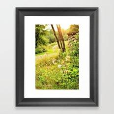 Dusk 'Till Dawn Framed Art Print