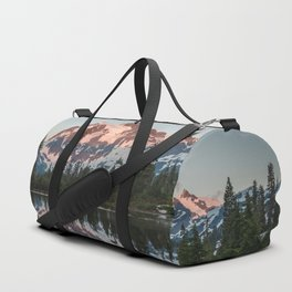 Cascade Sunset - Mt. Shuksan - Nature Photography Duffle Bag