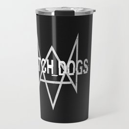 Watchdogs logo Travel Mug