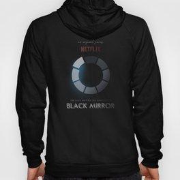 Black Mirror, minimalist tv series poster, alternative movie print, netflix Hoody