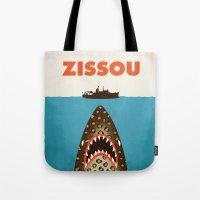 steve zissou Tote Bags featuring Zissou by Wharton