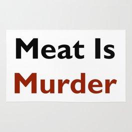 Meat Is Murder Rug