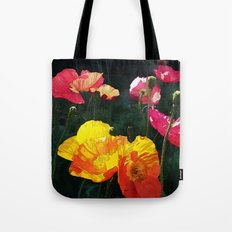 Poppies Four Tote Bag