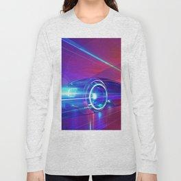 Abstract Race Car Long Sleeve T-shirt