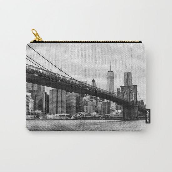 Monochrome Manhattan Carry-All Pouch