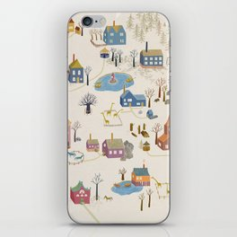 Little Village iPhone Skin