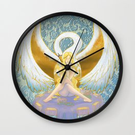 Lost Leda Wall Clock