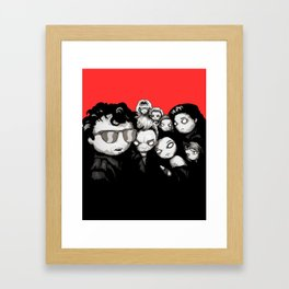 Lost Plushies Framed Art Print