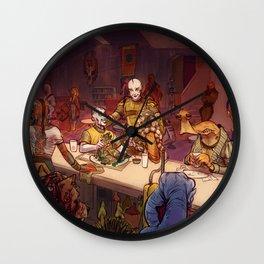 The Mos Emos Cantina Wall Clock