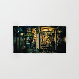 Late Night Scene/ Anthony Presley Photo Print Hand & Bath Towel