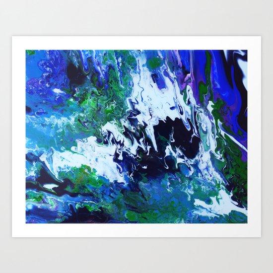 Arctic Moss Art Print