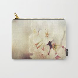 White Poppy Grudge Carry-All Pouch