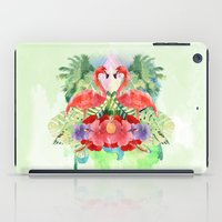 flamingo iPad Cases featuring Flamingo by Kangarui by Rui Stalph