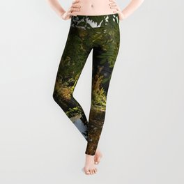 River by the mill  Leggings
